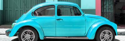 ¡Viva Mexico! Panoramic Collection - The Turquoise Beetle Car