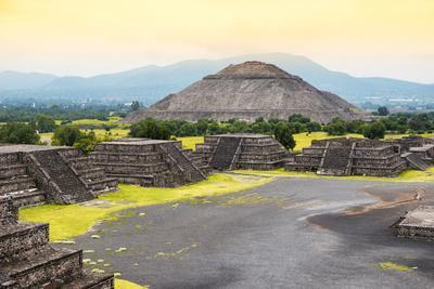 ¡Viva Mexico! Collection - Teotihuacan Pyramids IV