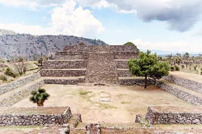 ¡Viva Mexico! Collection - Pyramid of Cantona IX - Puebla