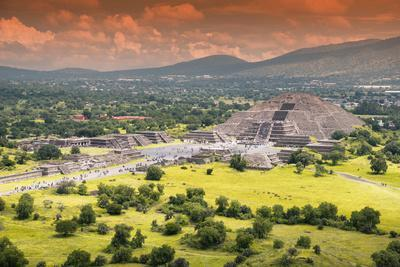 ¡Viva Mexico! Collection - Teotihuacan Pyramids V
