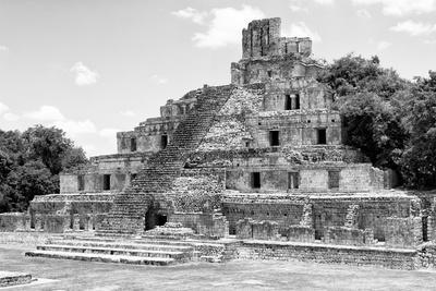 ¡Viva Mexico! B&W Collection - Maya Archaeological Site III - Campeche