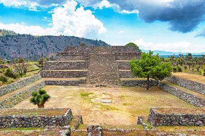 ¡Viva Mexico! Collection - Pyramid of Cantona X - Puebla