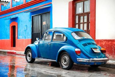 ¡Viva Mexico! Collection - VW Beetle and Blue Wall