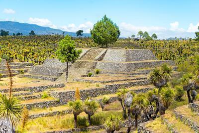 ¡Viva Mexico! Collection - Pyramid of Cantona XIII - Puebla