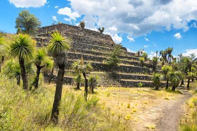 ¡Viva Mexico! Collection - Pyramid of Cantona VII - Puebla