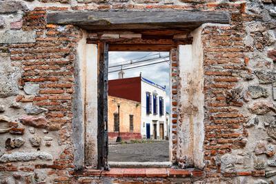 ¡Viva Mexico! Window View - Mexican Street