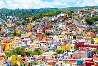 ¡Viva Mexico! Collection - Colorful Cityscape IX - Guanajuato