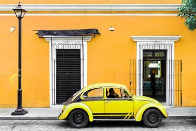 ¡Viva Mexico! Collection - VW Beetle Car - Gold & Yellow