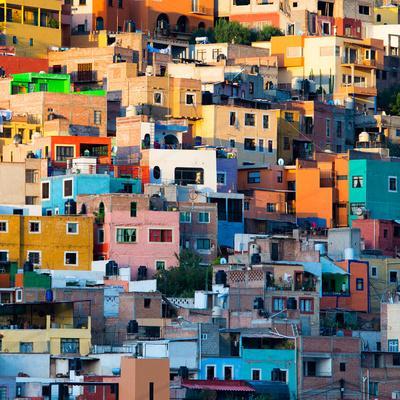 ¡Viva Mexico! Square Collection - Guanajuato at Sunset II