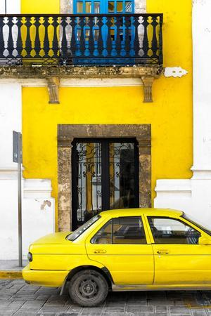 ¡Viva Mexico! Collection - Yellow Car in Campeche III