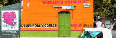 ¡Viva Mexico! Panoramic Collection - Orange Papeleria Estrella