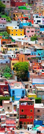 ¡Viva Mexico! Panoramic Collection - Colorful Cityscape - Guanajuato