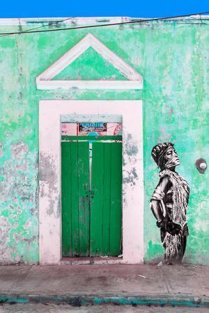 ¡Viva Mexico! Collection - Main entrance Door Closed VI