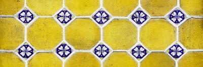 ¡Viva Mexico! Panoramic Collection - Wall of Yellow Mosaics