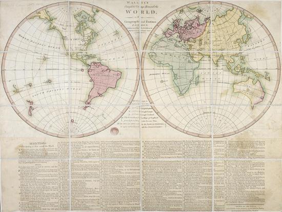 Wallis\'s Complete Voyage Round the World, 1796