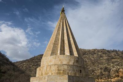 Lalish Capital of the Kurdish Sect of the Yazidis in Kurdistan, Iraq