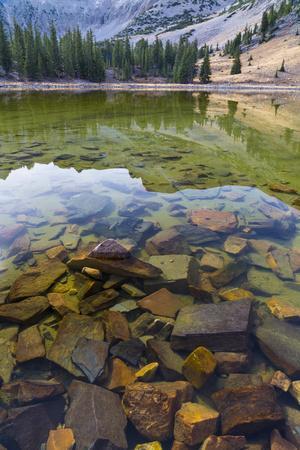 Nevada, Great Basin National Park. Stella Lake Landscape