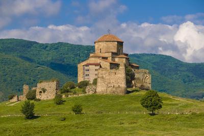 Jvari Monastery, Mtskheta, Georgia. World Heritage Site