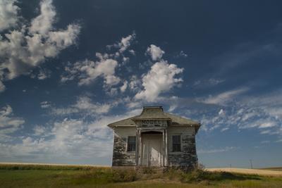 North Dakota, Abandoned Township Hall on the North Dakota Prairie