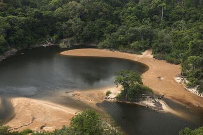Essequibo River, Iwokrama, Rupununi, Guyana. Longest River in Guyana