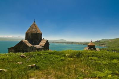 Sevanavank by Lake Sevan, Armenia