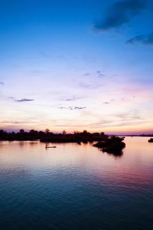 The Island of Don Det Is an Upcoming Backpacker Stop on Mekong River Along Cambodia and Laos Border