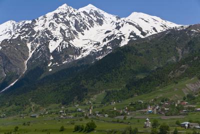 Mountain Scenery of Svanetia, Georgia