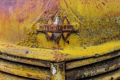 Rusty Old Truck Details Near Salmo, British Columbia, Canada