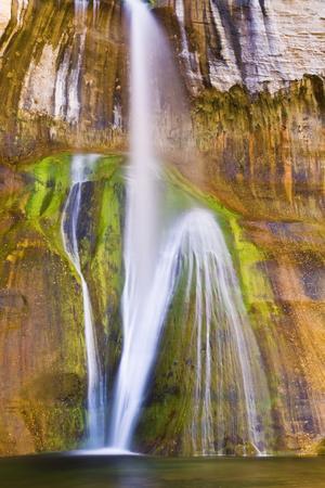 Lower Calf Creek Falls, Grand Staircase-Escalante National Monument, Utah, Usa