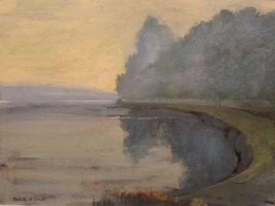 Batson Creek Salcombe, Early Morning, 2016