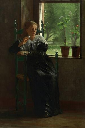At The Window, 1872