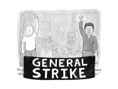 General Strike - Cartoon