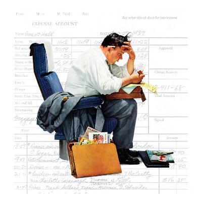 """""""Balancing the Expense Account"""", November 30,1957"""
