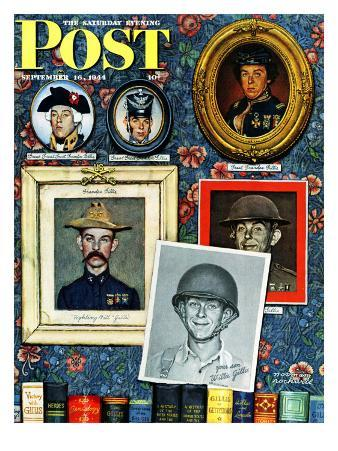 """""""Willie Gillis Generations"""" Saturday Evening Post Cover, September 16,1944"""