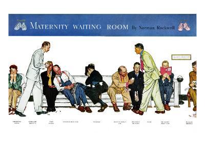 """Maternity Waiting Room"", July 13,1946"