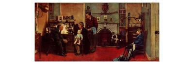 Norman Rockwell Visits a Family Doctor