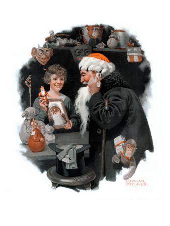 """""""Playing Santa"""", December 9,1916"""