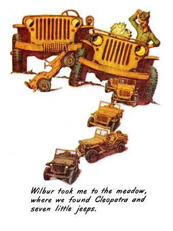 """The Wonderful Life of Wilbur the Jeep"" E, January 29,1944"