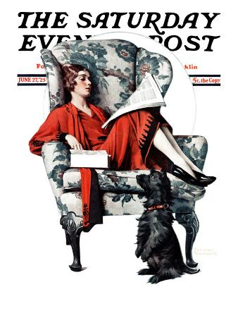 """""""Candy"""" Saturday Evening Post Cover, June 27,1925"""