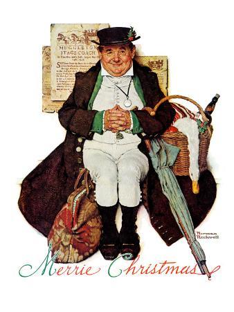 """Merrie Christmas"" or Muggleston Coach, December 17,1938"