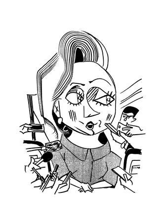 Hillary Clinton Double Standard  - Cartoon