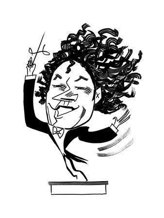 Gustavo Dudamel  - Cartoon