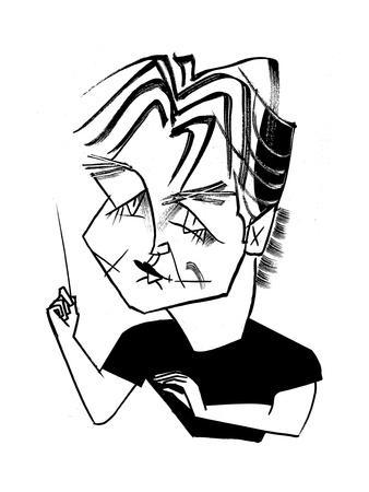 Esa-Pekka Salonen Cal Perf - Cartoon