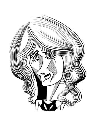 Laura Dern - Cartoon