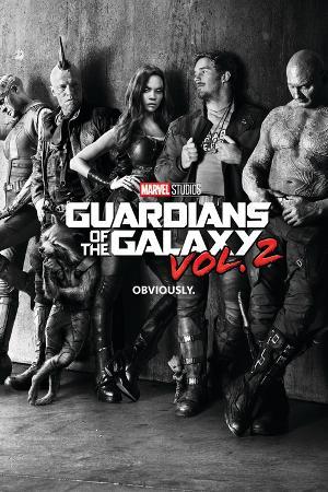Guardians of the Galaxy: Vol. 2 - Gamora, Drax, the Milano, Star-Lord, Rocket Raccoon, Groot