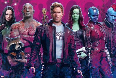 Guardians of the Galaxy: Vol. 2 - Mantis, Drax, Rocket Raccoon, Groot, Star-Lord, Gamora, Nebula