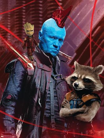 Guardians of the Galaxy: Vol. 2 - Groot, Yondu, Rocket Raccoon