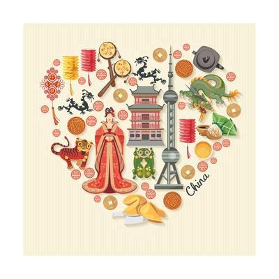 China Travel Illustration
