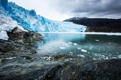 Brujo Glacier Asia Fjord Patagonia Chile