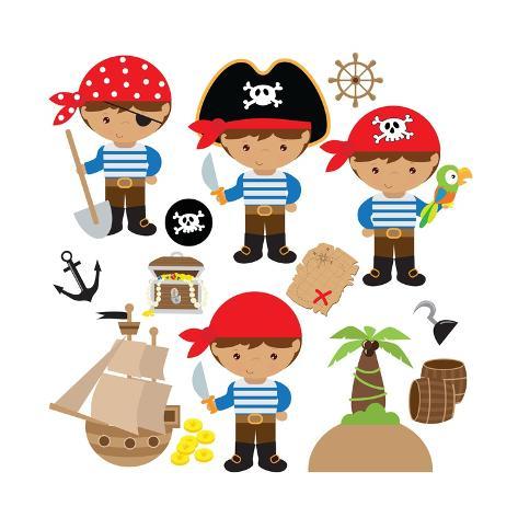 CLEARANCE YARD CHILDREN PIRATES SHIPS TREASURE ISLAND SEA SKULL CROSSBONES ST